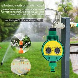 automatic electronic water timer hose tap garden