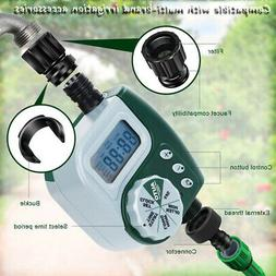 "Automatic Timer 3/4"" Garden / Greenhouse Irrigation Hose Fau"