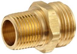 "Dixon BA74 Brass Fitting, Adapter, 3/4"" GHT Male x 1/2"" NPTF"