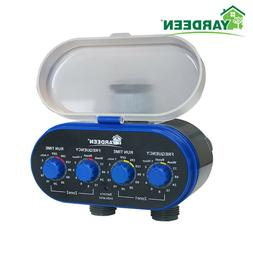 Ball Valve Two Outlet Electronic Hose Water Timer Garden/Hom