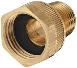 """Dixon BMA974 Brass Fitting, Adapter, 3/4"""" GHT Female x 1/2"""""""