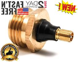 Camco Brass Blow Out Plug RV Trailer Camper Parts Accessorie