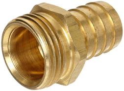 "Anderson Metals Brass Garden Hose Fitting, Connector, 1/2"" B"