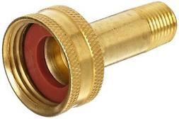 "Anderson Metals Brass Garden Hose Fitting, Swivel, 3/4"" Fema"