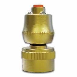 TITAN Brass Garden Hose Jet Nozzle Super Shot Watering Spray