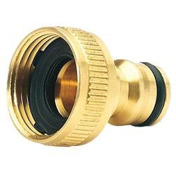 Brass Garden Hose Tap Connector  Quick Hose Adaptor Accessor