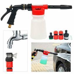 Car Snow Foam Gun Bottle Sprayer for Garden Hose Window Soap
