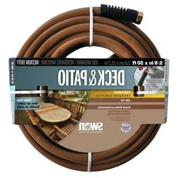 "Deck & Patio Hose 5/8 "" X 50 ' Black"
