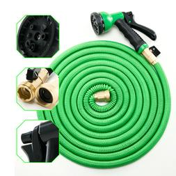 Deluxe 50 feet Expandable Flexible Garden Water Hose + Spray