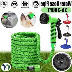 Deluxe 25-200 Feet Expandable Flexible Garden Plant Water Ho