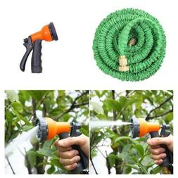 Deluxe 25 50 75 100 150 Ft Expandable Flexible Garden Water
