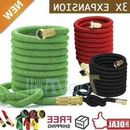 3X Stronger Deluxe 25-150 FT Expandable Flexible Garden Wate