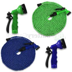 Deluxe 25 50 75 100 Feet Expandable Flexible Garden Water Ho