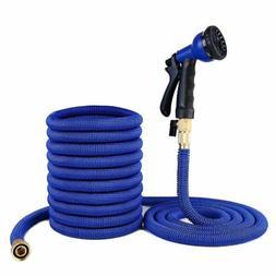 Deluxe 25 50 75 100 Feet Expandable Flexible Garden Water Ho