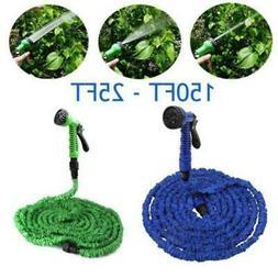 Deluxe 25 50 75 100 FT Expanding Flexible Garden Water Hose