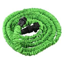 Deluxe 25 Feet 25FT Expandable Flexible Garden Lawn Water Ho