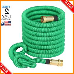 Double Latex Expandable Flexible Garden Hose with 3/4 Brass