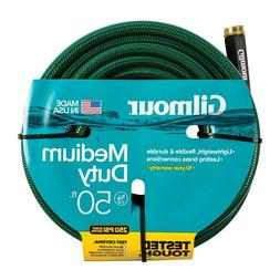Durable Gilmour 5/8 in. Dia x 50 ft. Medium-Duty Water Hose