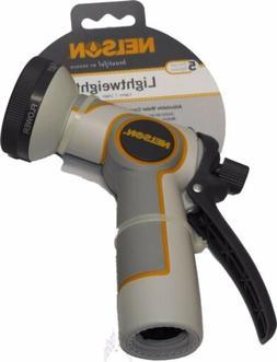 Nelson Ergonomic 5 Function Lighweight Hose Nozzle Watering