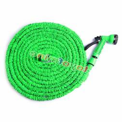 Expandable Flexible Garden Water Hose Pipe Spray Gun Nozzle
