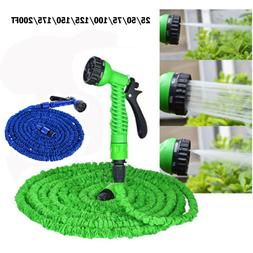 Expandable Flexible Water Hose Pipe Watering Spray Nozzle Gu