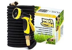 ExpaHose 100ft Expandable Garden Hose with 9-Pattern Sprayer