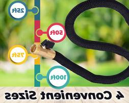 Expandable Garden Hose - Solid Brass Fittings and Built to L