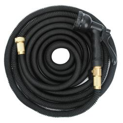 Expandable Retractable Garden Water Hose Outdoors Lawn Patio