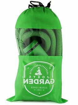 Expanding Garden Hose - 75 Foot Green - Extra Strength Stret