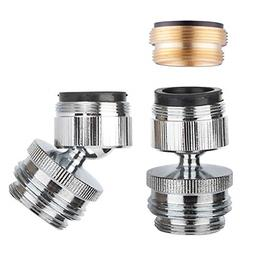 Faucet Adapter Kit Swivel Aerator Adapter to Connect Garden