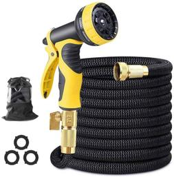 Syolee Flexible and Expandable Garden Hose with 3/4 inch Sol