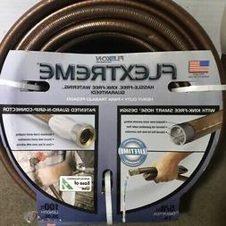 "NEW Flexon Flextreme Heavy Duty Garden Hose 100 Feet 5/8"" Ki"