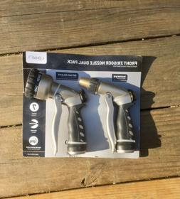 Orbit Front Trigger Nozzle Dual Pack Garden Hose Attachment