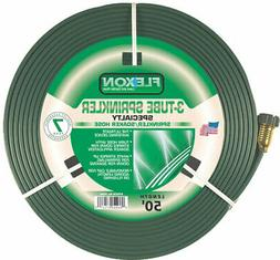 Flexon FS50 50-Foot 3-Tube Sprinkler Hose