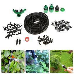 Garden DIY Micro Drip Irrigation System Plant Self Watering