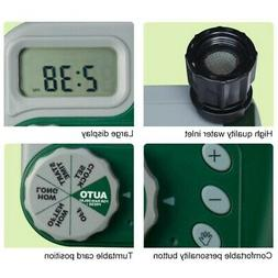 garden faucet irrigation timer garden sprinkler controller