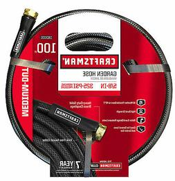 Garden Hose 5/8 Inch 100 Ft Vinyl Craftsman Medium Duty Kink