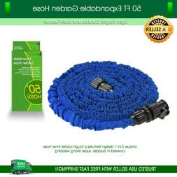 Garden Hose 50 feet Lightweight Expandable Deluxe Heavy Duty
