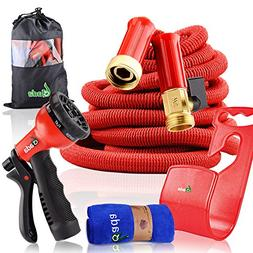 Garden Hose Expandable,Heavy Duty Flexible Hose Pipe with 8-