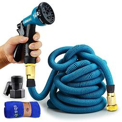 Gada Garden Hose -Expandable Water Hoses Set 8-Way Spray Noz