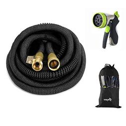 50ft Garden Hose- 2018 New Bronze Connector Expandable Water