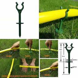 Garden Hose Guide Spikes Stake Holder Plant Saver Tool For G