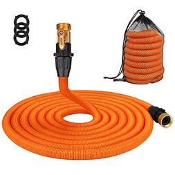 Tacklife 50ft Garden Hose, New 2018 Leakproof Patent Connect