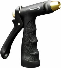 Garden Hose Nozzle-Adjustable Sprayer Metal Water Hose Spray