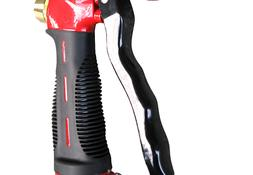 Garden Hose Nozzle / Hand Sprayer - Heavy Duty 10 Pattern Me