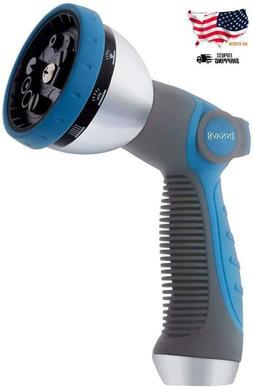 Innav8 Garden Hose Nozzle Sprayer - Features 10 Spray Patter