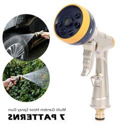 Garden Hose Nozzle Water Sprayer Attachments Gun Head Jet Sp