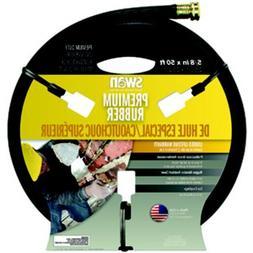 Garden Hose Premium Rubber 5/8 Inch By 50 Foot