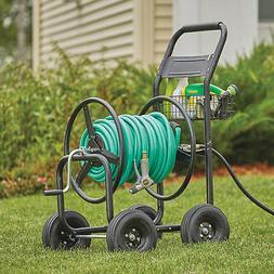 Garden Hose Reel Cart- Holds 300ft. x 5/8in. Hose