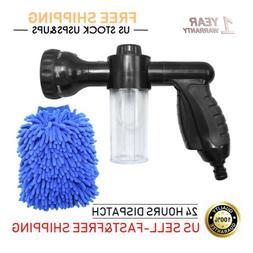Garden Hose Spray Nozzle Car Wash Foam Gun Snow Foam Lance w